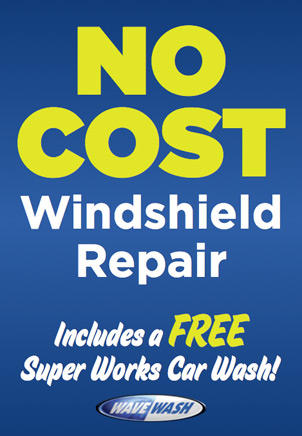 Wave Wash No Cost Windshield Repair